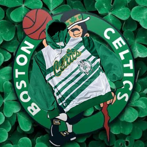 80s Starter Boston Celtics Hoodie XL
