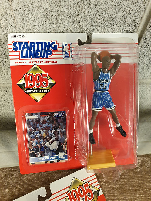 1995 Kenner Starting Lineup NBA Shaquille O'Neal Orlando Magic