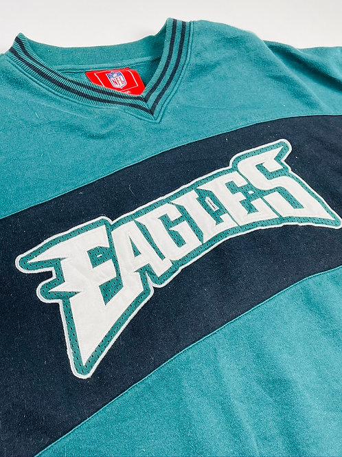 Stitched Philadelphia Eagles Crewneck - 2XL