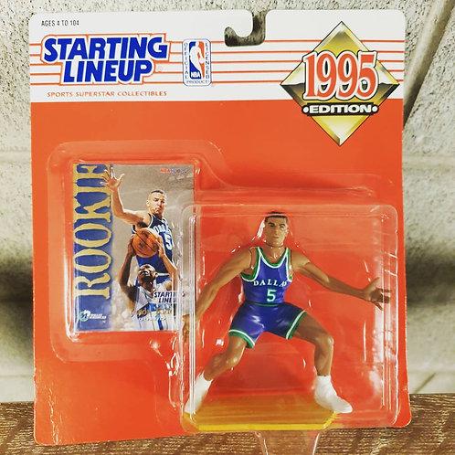 1995 Kenner Starting Lineup NBA Jason Kidd Rookie Dallas Mavericks