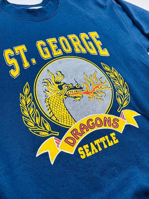 St George Dragons Crewneck - M