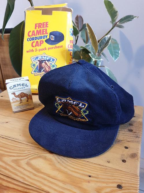 Vintage Camel Corduroy cap with original box