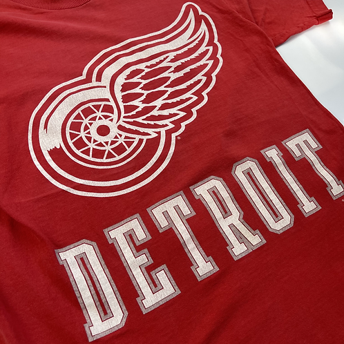 Detroit Red Wings Tee - ( Tagged Pro player - Bel M)