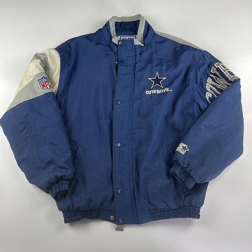 90's Starter Cowboys Jacket - XL