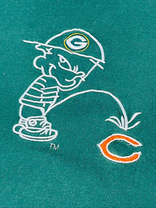 Packers over Bears Stitched - XL