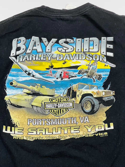 Harley Military Portsmouth Tee - L