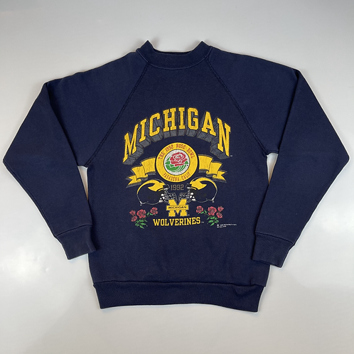 1992 Kids Michigan Wolverines Crewneck - s10-12