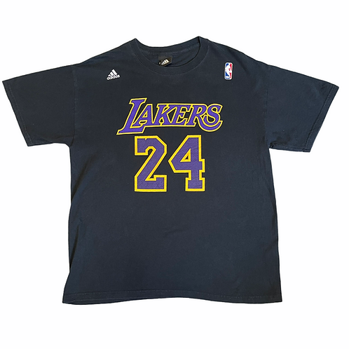 Lakers 24 Adidas Tee M