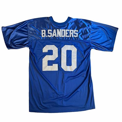 Barry Sanders Stitched Detroit Lions Jersey - Bel 2XL