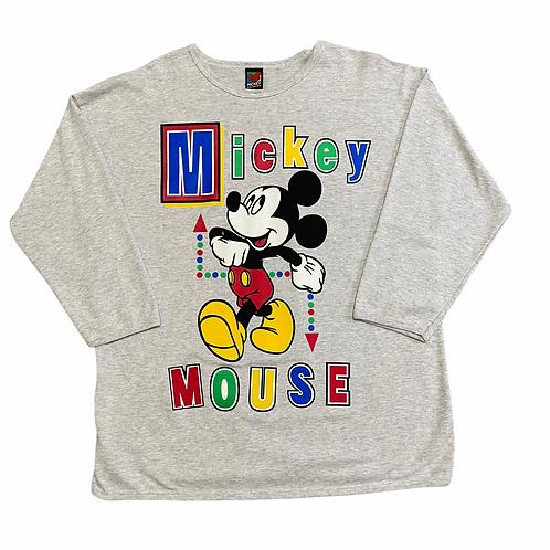 90's Mickey Mouse Crewneck 2XL