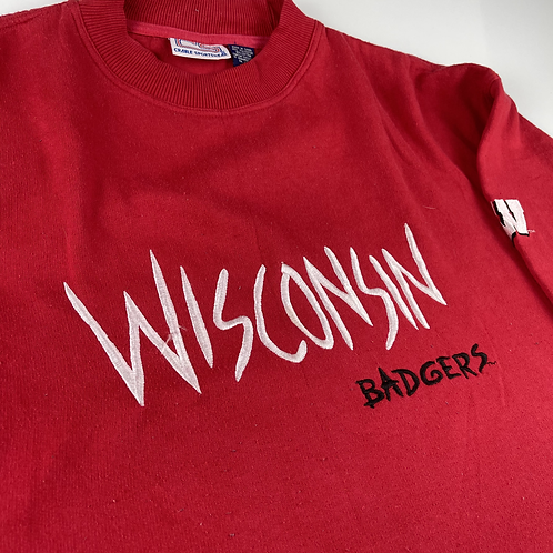 Wisconsin Badgers Crewneck - L (oversized)