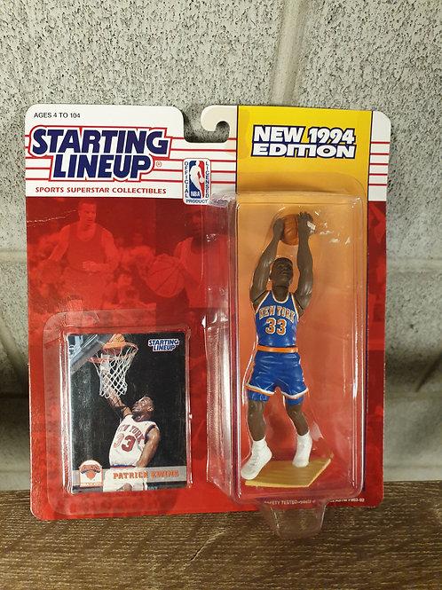 1994 Kenner Starting Lineup NBA Patrick Ewing New York Knicks
