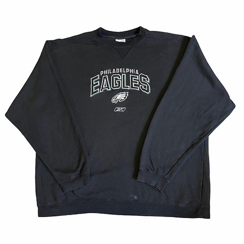 Embroidered Philadelphia Eagles Crewneck 2XL