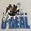Thumbnail: Rare 90s Shaq Orlando Magic Cartoon Double Sided Tee L