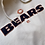 Thumbnail: Chicago Bears Embroidered NFL Hoodie L