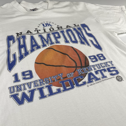Vintage 98 Kentucky Wildcats Tee - L