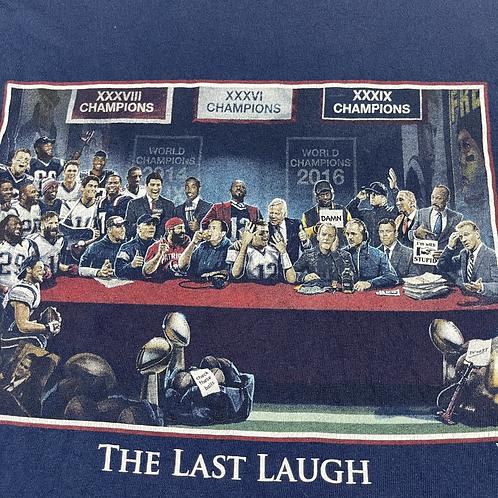 Patriots Last Laugh Tee - L