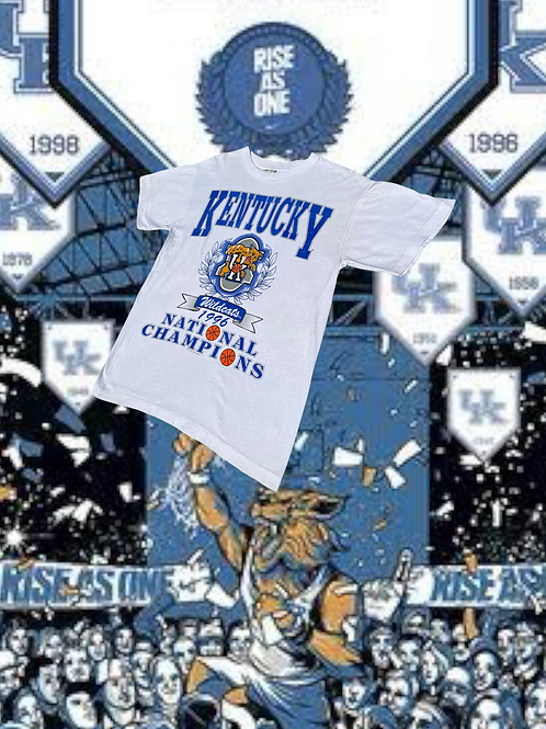 96 Kentucky Wildcats Tee - L