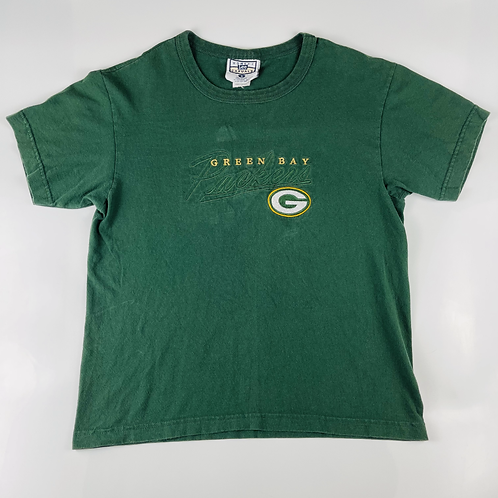 Womens Embroided Green Bay Packers Tee - S