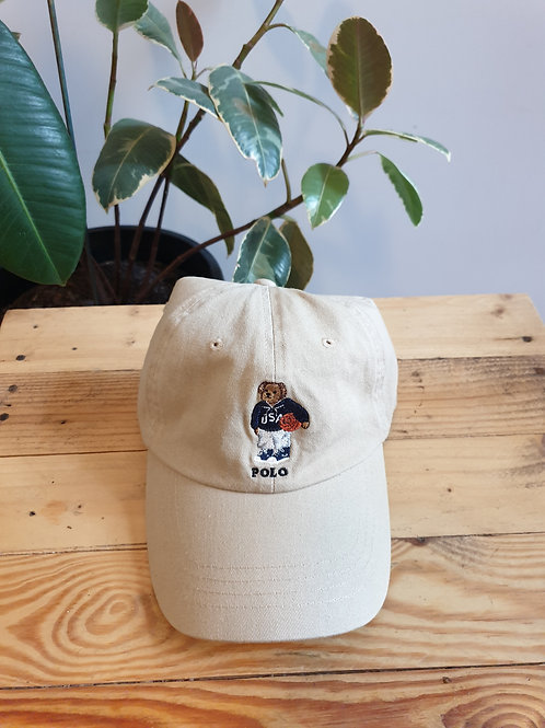 Ralph Lauren Polo Basketball Bear Cap