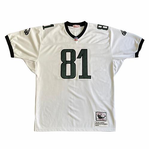 Terrell Owens Stitched Eagles Jersey Sz 52(L-XL)