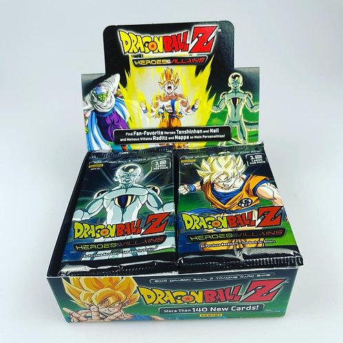 Dragonball Z cards - Heroes & Villans Sealed Pack