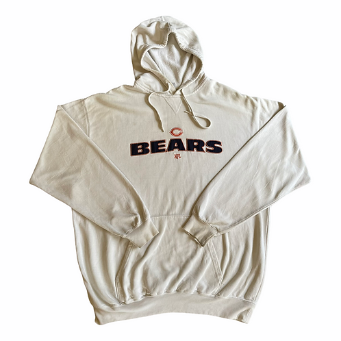 Chicago Bears Embroidered NFL Hoodie L