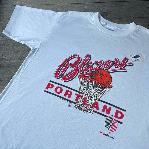90's Portland Blazers Salem Tee - L