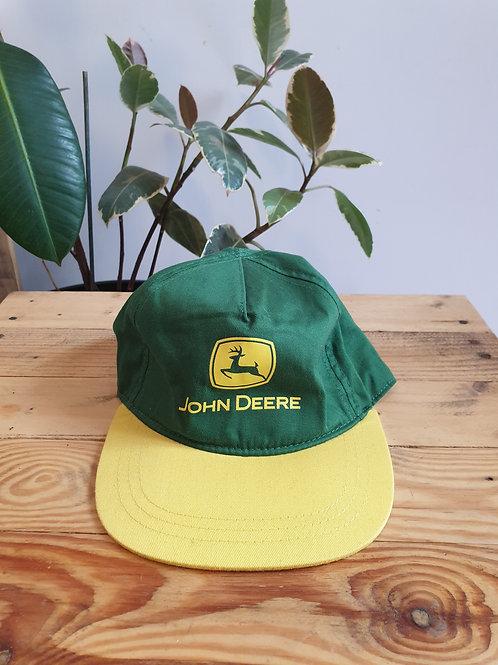 John Deere Green Logo Cap