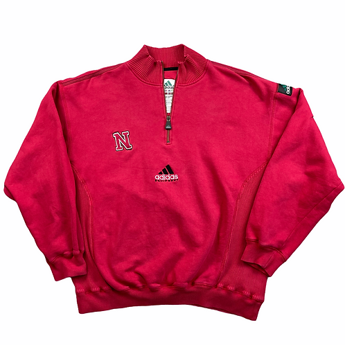 Adidas Nebraska Embroidered Jumper - Bel XL