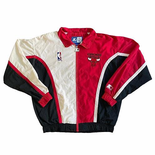 90's Chicago Bulls Starter Jacket L