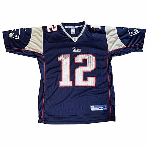 Tom Brady Patriots Jersey - L