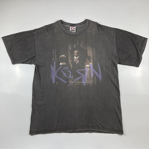 Korn 90s Vintage T-shirt Life Is Peachy Tour XL