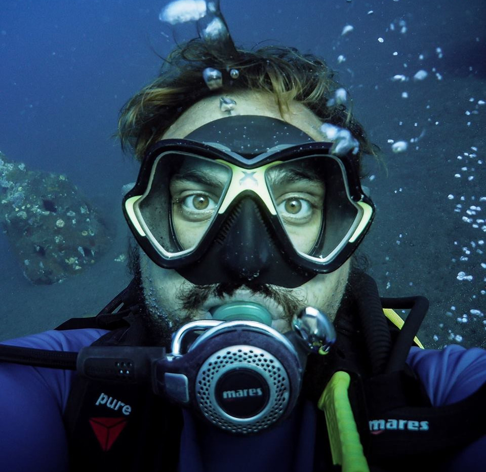 Baptiste Larriere MSDT scuba diving instructor Scuba Tribe Bali