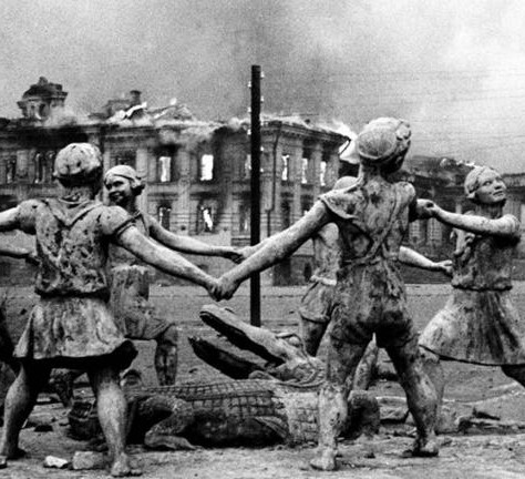Stalingrad, the terror of the Russian soldier in the War World II.