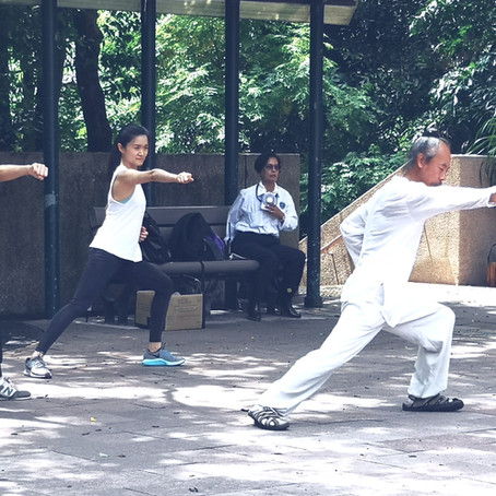 How many calories do you burn doing Tai Chi or Qigong?