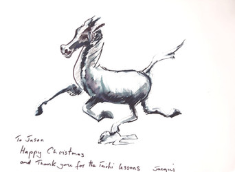 White Horse Tai Chi wishes you a Merry Christmas