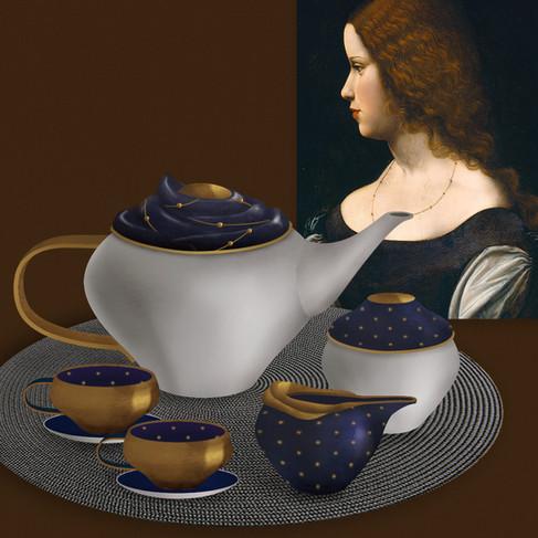 CONSTELLLATION TEA SET