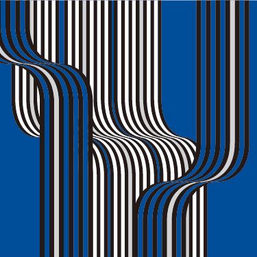 Illusion Blue Graphic