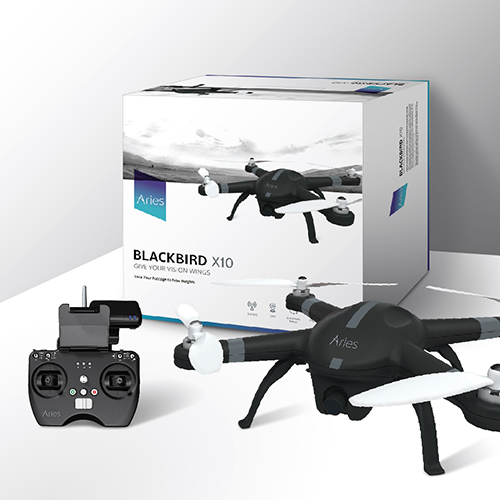 Aries Blackbird X10 Packaging