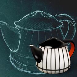 Rousseau-Teapot Sketch