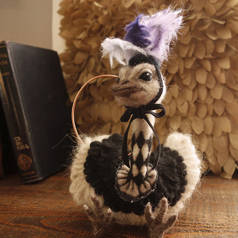 Ostrich the Dancer
