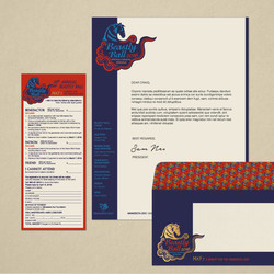 Beastly Ball Stationery