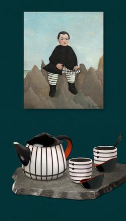 Rousseau Tea Set