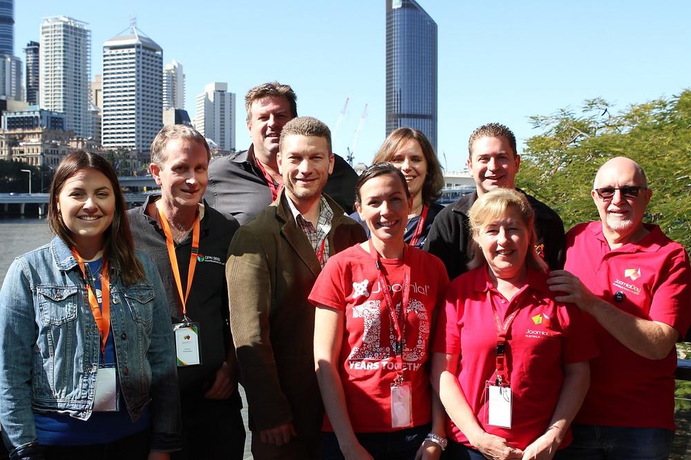JoomlaDay Australia 2019 volunteers