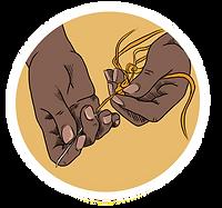 Weaving hands