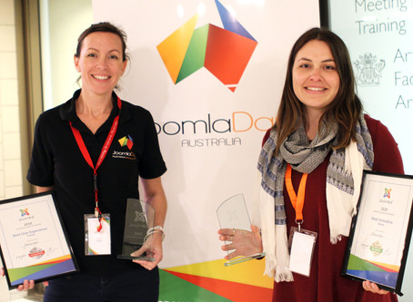 We won four awards for the Jellurgal Aboriginal Cultural Centre website