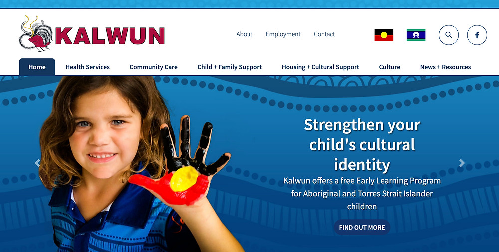 Kalwun Development Corporation website home page