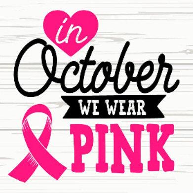 October Wear Pink