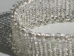 Plain Knit Bracelet.